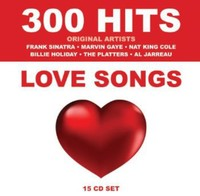Various Artists - 300 Hits: Love Songs (CD)