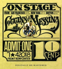 Loggins & Messina - On Stage (CD) - Cover