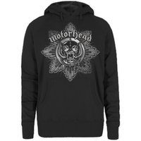 Motorhead Pig Badge Ladies Hoodie (Small) - Cover