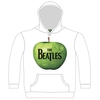 The Beatles Apple Hooded Top White (Medium)