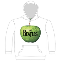 The Beatles Apple Hooded Top White (Small) - Cover