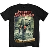 Avenged Sevenfold England Mens Black T-Shirt (X-Large)