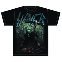 Slayer Soldier Cross Mens T-Shirt (Small) - Cover