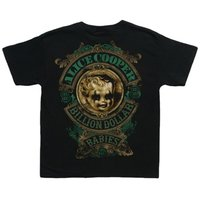 Alice Cooper Billion Dollar Toddler 3-6 months T-Shirts (Small) - Cover