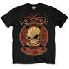 Five Finger Death Punch Anniversary X Mens Black T-Shirt (Large)