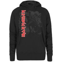 Iron Maiden Hi Con Trooper Ladies Hoodie (Small) - Cover