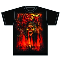 Slayer Wehrmacht Mens T-Shirt (Small) - Cover