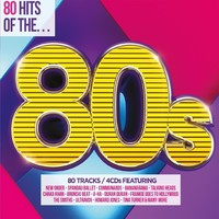 80 Hits of the 80s / Various (CD) - Cover