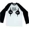 Alice Cooper Eyes Raglan Baseball Long Sleeve T-Shirt (X-Large)