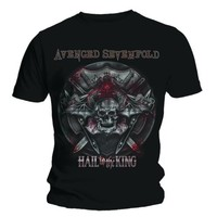 Avenged Sevenfold Battle Armour Black T-Shirt (X-Large) - Cover