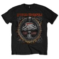 Avenged Sevenfold Drink Black T-Shirt (Small) - Cover