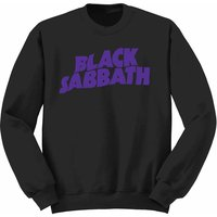 Black Sabbath Wavy Logo Youth Sweatshirt 7-8 (Large) - Cover