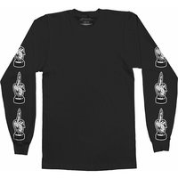 Bring Me The Horizon Devil's Hands Long Sleeved T-Shirt Black (Medium) - Cover