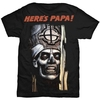 Ghost Here's Papa Men's Black T-Shirt (XX-Large)