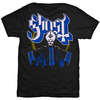Ghost Papa & Band Mens Black T-Shirt (Small)
