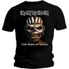 Iron Maiden Book of Souls Mens Black T-Shirt (Medium)