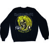 Iron Maiden Killers 81 Mens Black Sweatshirt (Small)