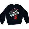 Judas Priest British Steel Mens Black Sweatshirt (XX-Large)