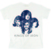Kings Of Leon Silhouette Mens White T-Shirt (X-Large)