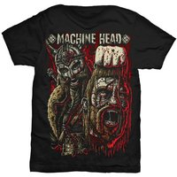 Machine Head Goliath Red Mens T-Shirt (X-Large) - Cover