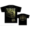 Machine Head Scratch Diamond Cover Mens T-Shirt (Large)