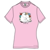 Moomins Love Is? Ladies light pink T-Shirt  Large (Large)
