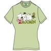 Moomins Moomin Family ? Snufkins Squeezebox Ladies Pistach (Large)