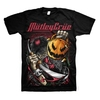 Motley Crue Halloween Men's Black T-Shirt (Medium)