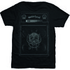 Motorhead Amp Stack Mens Black T-Shirt (Medium) Cover
