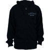 Motorhead Bad Magic Mens Zip Black Hoodie (Small)