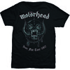 Motorhead Grey Warpig Mens Black T-Shirt (Medium)