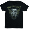 Motorhead Wings Mens Black T-Shirt (Medium)