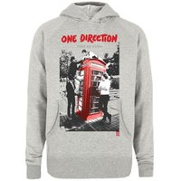 One Direction Take Me Home Grey Ladies Hooded Top (Small) - Cover