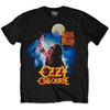 Ozzy Osbourne Bark At The Moon Mens Black T-Shirt (Large)