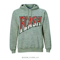 Queen Flash Pullover Hoodie Grey (X-Large) - Cover