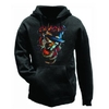 Slash Smoker Mens Hoodie (X-Large)