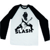 Slash Snowblind Raglan Baseball Shirt Long Sleeve T-Shirt (Medium)