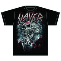 Slayer Demon Storm Mens T-Shirt (Small) - Cover