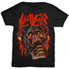 Slayer Meathooks Mens Black T-Shirt (Small)