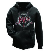 Slayer Pentagram Mens Hoodie (Small) - Cover