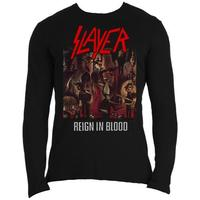 Slayer Reign in Blood Long Sleeve Shirt (X-Large) - Cover