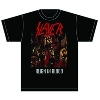 Slayer Reign in Blood Mens T-Shirt (Large) - Cover