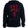 Slayer Repentless Crucifix Mens Pullover Hoodie (X-Large)