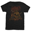 Slayer Skull Pumpkin Men's Black T-Shirt (Small)