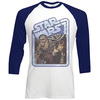 Star Wars Chewie & Han Raglan Baseball Long Sleeve T-Shirt (X-Large)