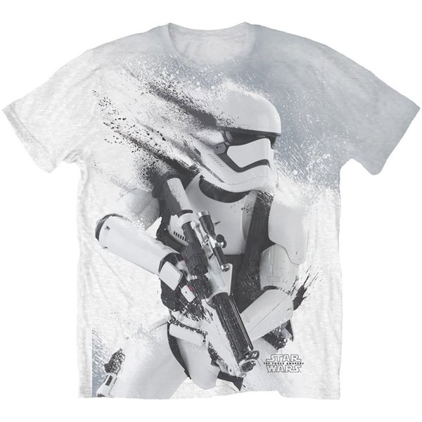 Star Wars Stormtrooper All Over Sub Mens White T-Shirt (X