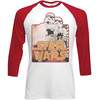 Star Wars Stormtroopers Raglan Baseball Long Sleeve T-Shirt (X-Large)