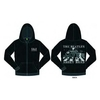 The Beatles Abbey Road Mens Hoodie  Black (Large)