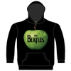 The Beatles Apple Hooded Top Black (X-Large)