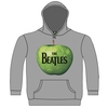 The Beatles Apple Hooded Top Grey (X-Large)